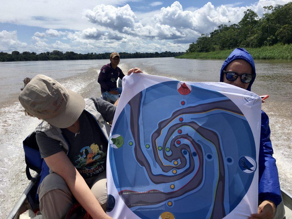 Flow Game en el Rio Putumayo